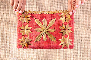 Cardinal star, clutch bag