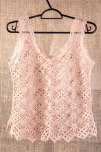 Load image into Gallery viewer, Autumn, bobbin lace tank top