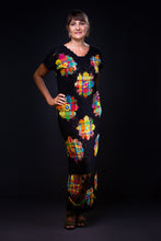 Load image into Gallery viewer, Maxi flowers, embroidery filé dress