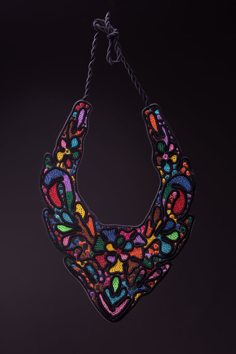 Enchanted garden, maxi necklace