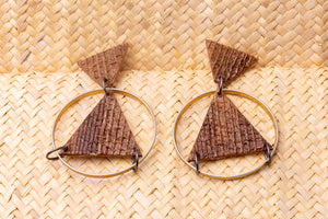 Creativity, earrings