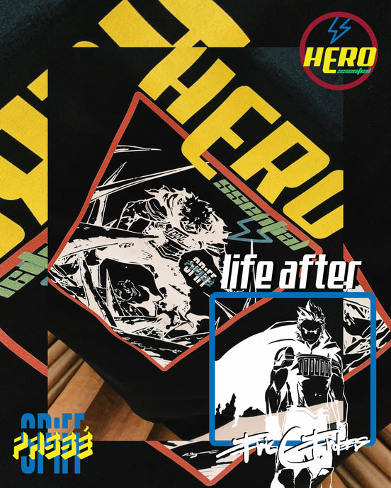 LIFE AFTER: Hero Essential Tees
