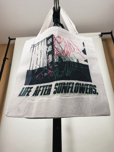 Life After Sunflowers: Tote Bag