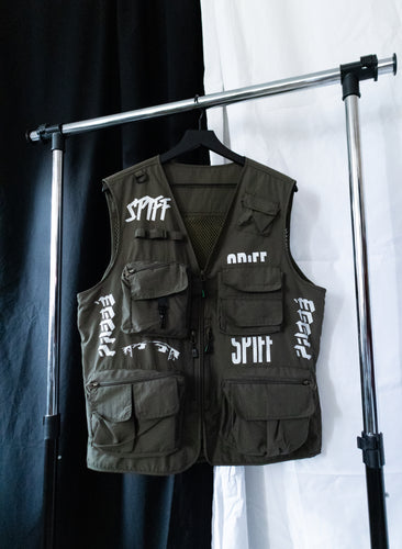 LIFE AFTER: SPiFF Shinobi Vest (Olive Green)