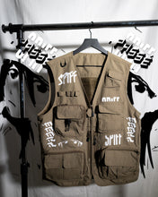 "Load image into Gallery viewer, ""BLANK CANVAS"" Creator Vest: Khaki"