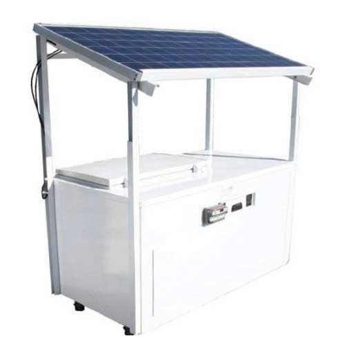 Solar 300Ltr Compatible Deep Freezer (24 Volt ,300 watt Solar Panel) Ready Go