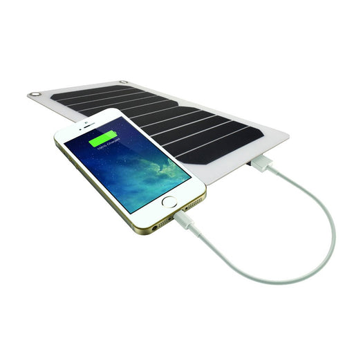 SOLAR FLEXI PORTABLE CHARGER || IFITECH SLUSB6-208 (BLACK)