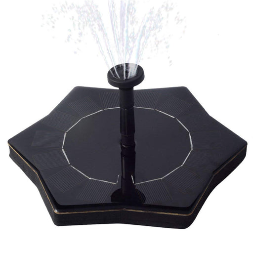 SOLAR POWERED FOUNTAIN – TANGOO SOLAR FOUNTAIN SOLAR WATER PUMP PANEL KIT, STANDING