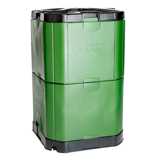 Motherson Auto Parts Aerobin Insulated Composter (400 Litre, Green and Grey)