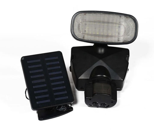 SOLAR MOTION SENSOR SECURITY LIGHT WITH SIREN