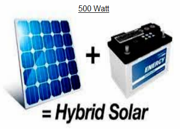 SOLAR INVERTER 500 WATTS