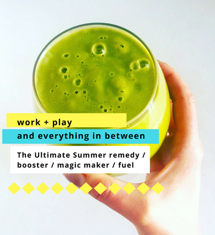 7 day all green SUMMER SURVIVAL KIT: Work+Play amplifier