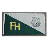 Farmhouse Embroidered Flag