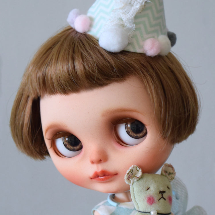 Our custom Blythe doll
