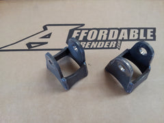 Toyota Lower Shock Mount Weld on Shock Mount Brackets, rock crawler, jeep TJ JK