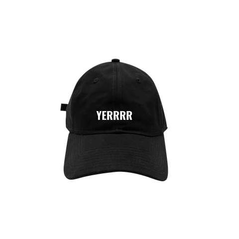 Yerrrr Dad Hat (Black)