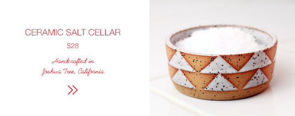 SHOP Ceramic Salt Cellar | Firecracker