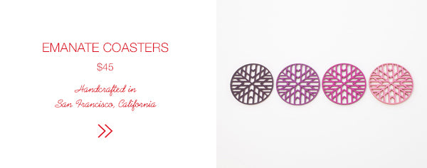 SHOP Emanate Coasters | Firecracker