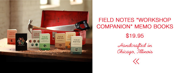 Field Notes Workshop Companion Memo Books | Last Minute Gift Guide | Firecracker Journal