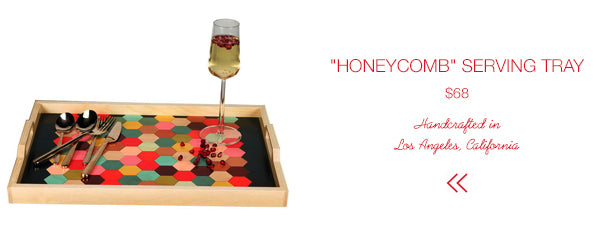 SHOP Honeycomb Serving Tray | Firecracker