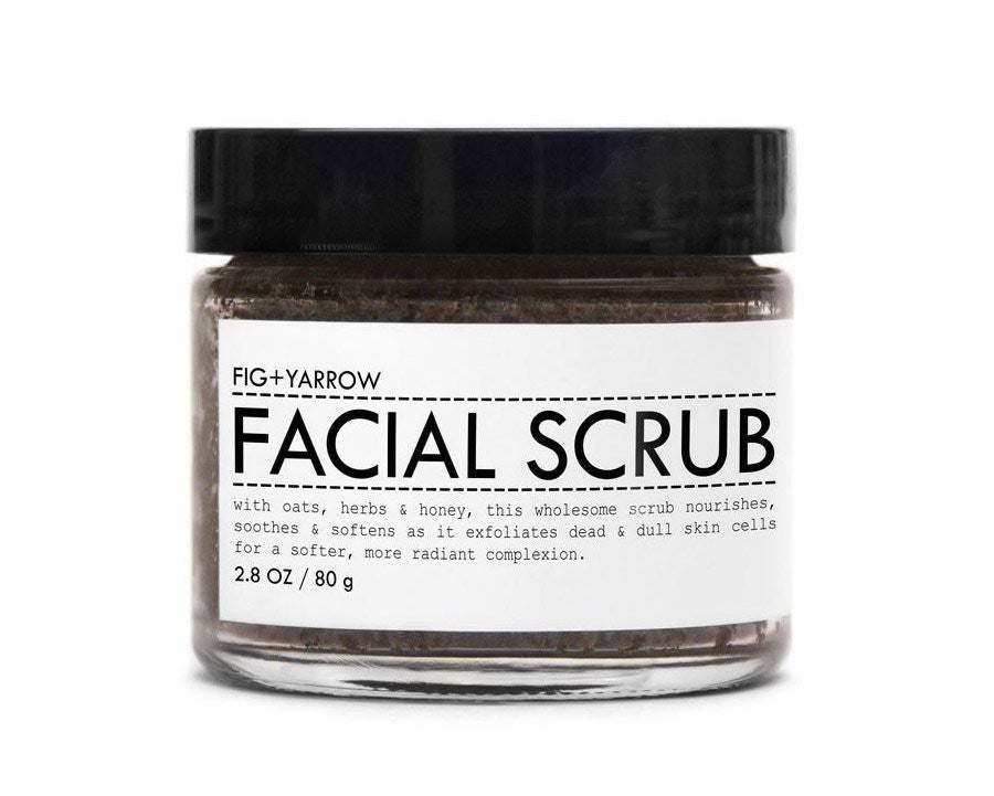 Fig + Yarrow | Honey + Floral Essence Facial Scrub | Firecracker