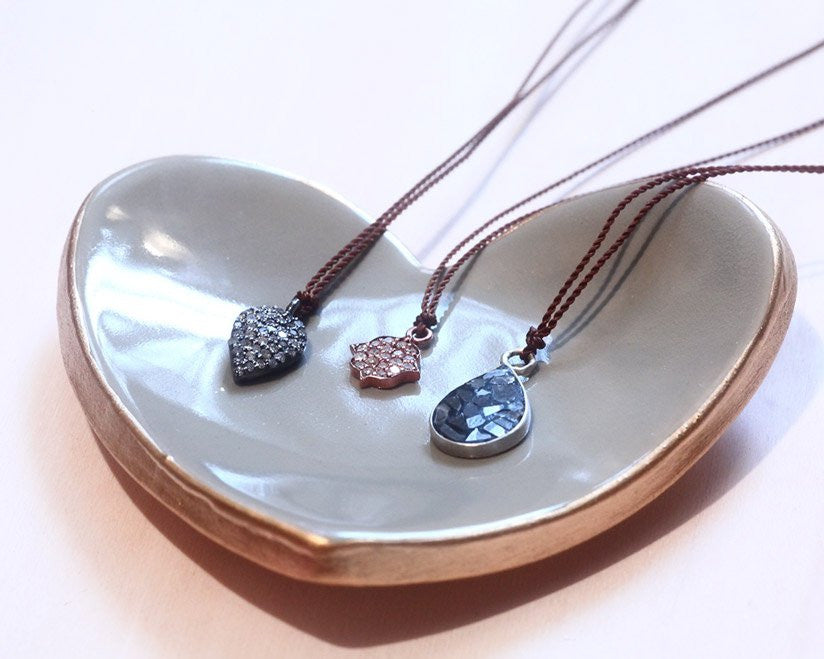 Curated by Firecracker | Tiny Heart Ceramic Ring Dish | Firecracker