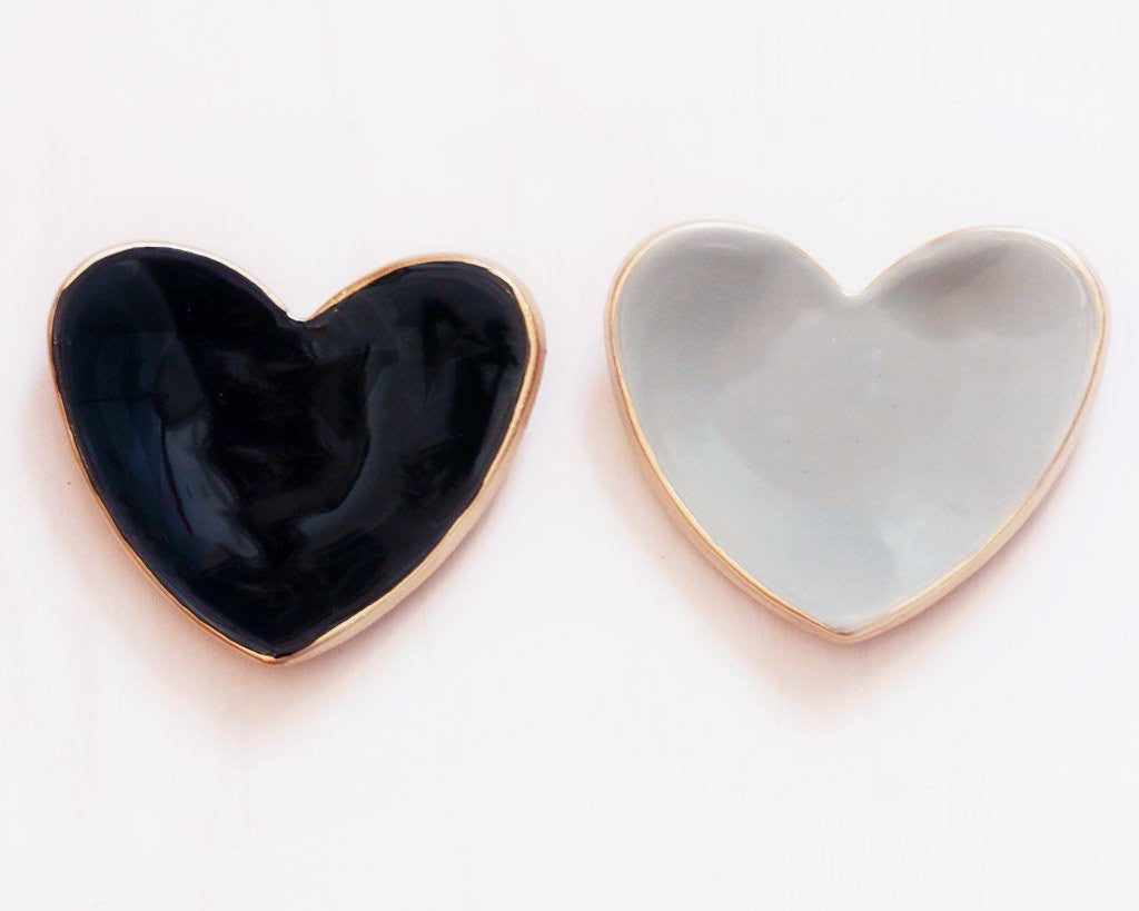 Tiny Heart Ceramic Ring Dish