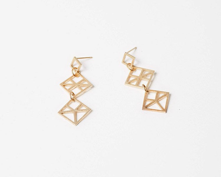 products grande cascade zoom earrings fortunato lizzie