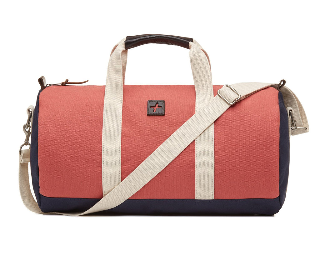 Jack + Mulligan | Kennedy Duffel (Nantucket Red) | Firecracker