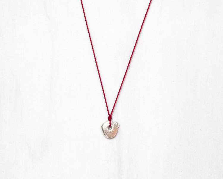 "Sterling Silver ""Wabi-Sabi"" Necklace 