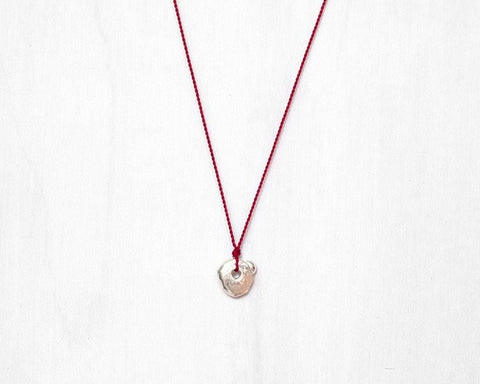 "Margaret Solow Jewelry | Sterling Silver ""Wabi-Sabi"" Necklace 