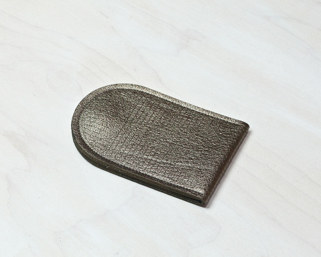 Molly M Designs | Etched Leather Pouch (Pewter) | Firecracker