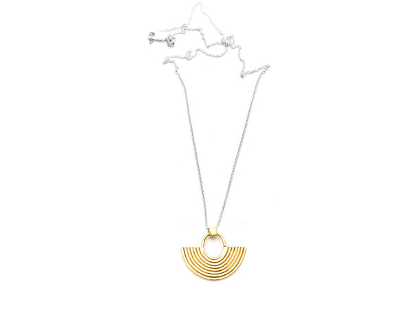 Odette New York | Aalto Necklace in Brass | Firecracker