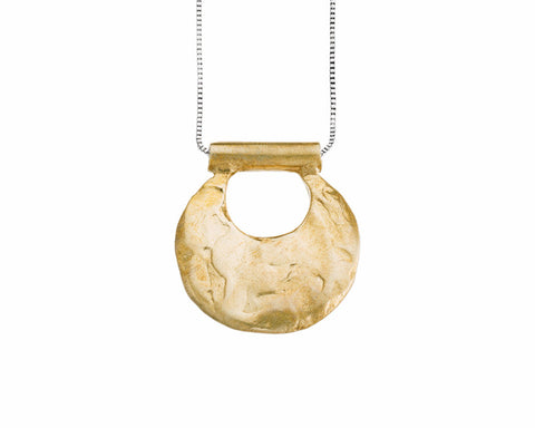 Odette New York | Canyon Necklace in Brass | Firecracker