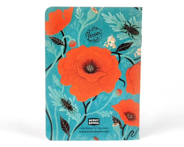 """Poppies"" Pocket Notebooks"