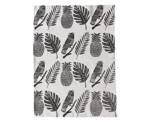 Amelie Mancini | Tropical Tea Towel | Firecracker