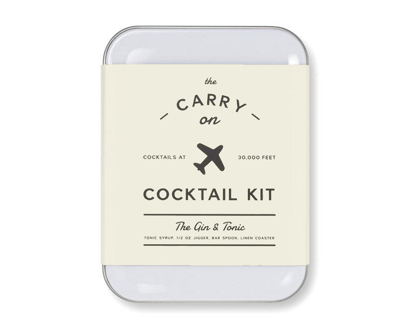 W&P Design | Carry-on Cocktail Kit: The Gin & Tonic | Firecracker