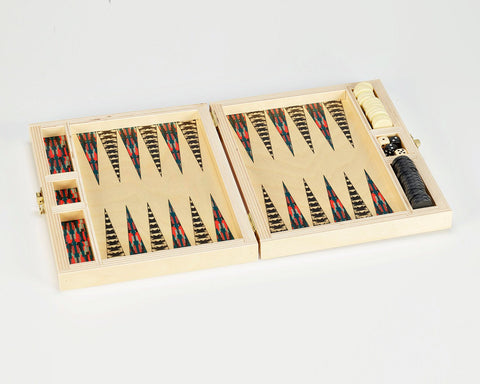 "Wolfum | ""Annie"" Backgammon Set 