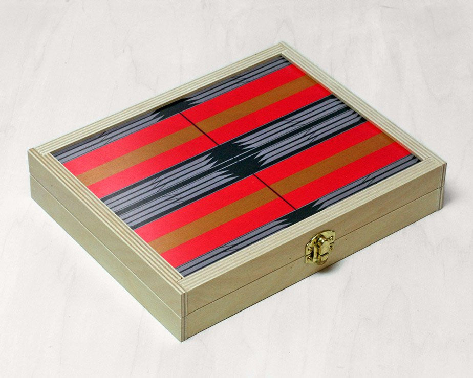 "Wolfum | ""Sybil"" Backgammon Set 