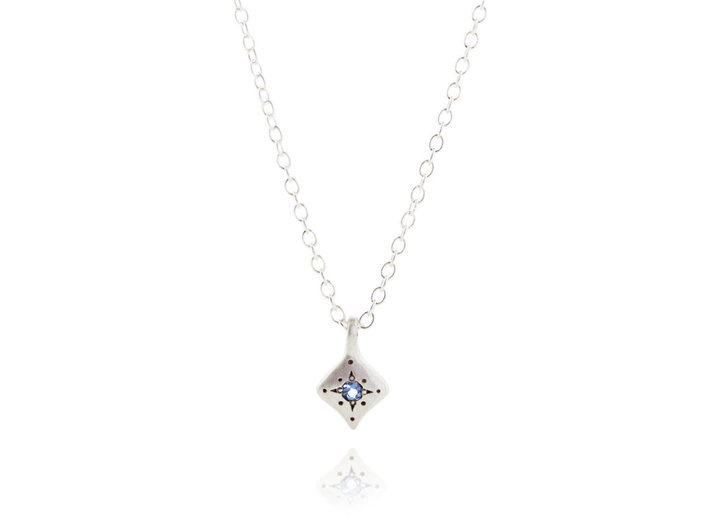 Adel Chefridi Studio |  Aquamarine + Sterling Silver Night Charm Necklace | Firecracker
