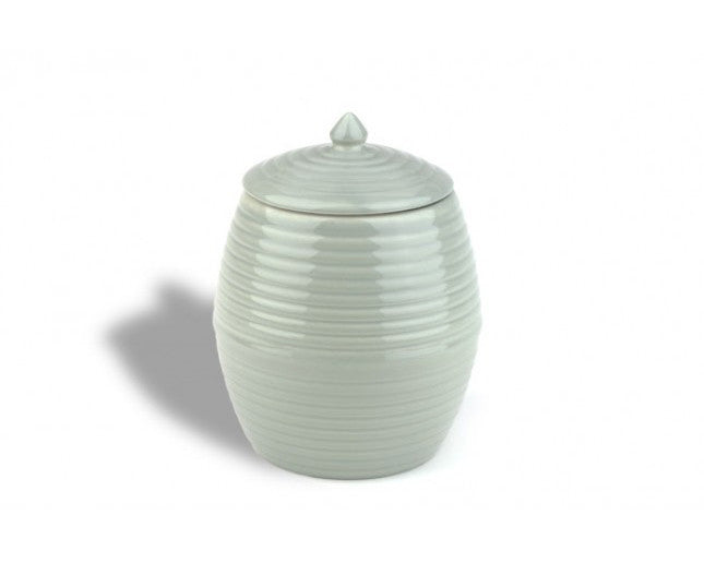 Bauer Pottery Co. | Dove Gray Cookie Jar | Firecracker