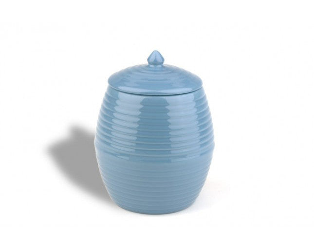 Bauer Pottery Co. | French Blue Cookie Jar | Firecracker