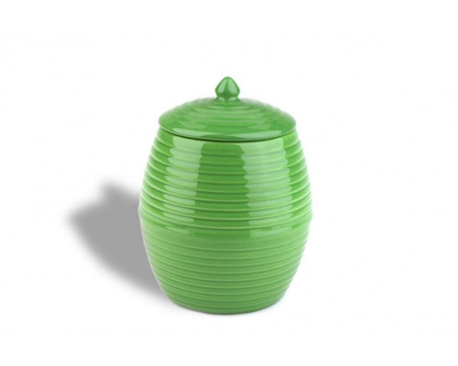 Bauer Pottery Co. | Parrot Green Cookie Jar | Firecracker