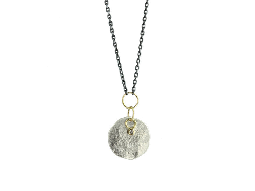 Sarah McGuire Studio | Diamond + 18k Gold Astrid Charm Necklace | Firecracker