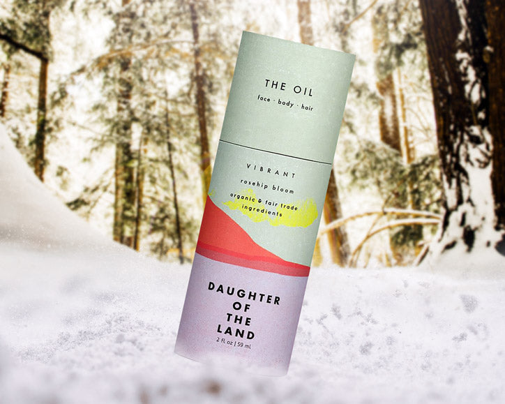 Daughter of the Land | The Oil: Rosehip Bloom for Face, Body + Hair | Firecracker