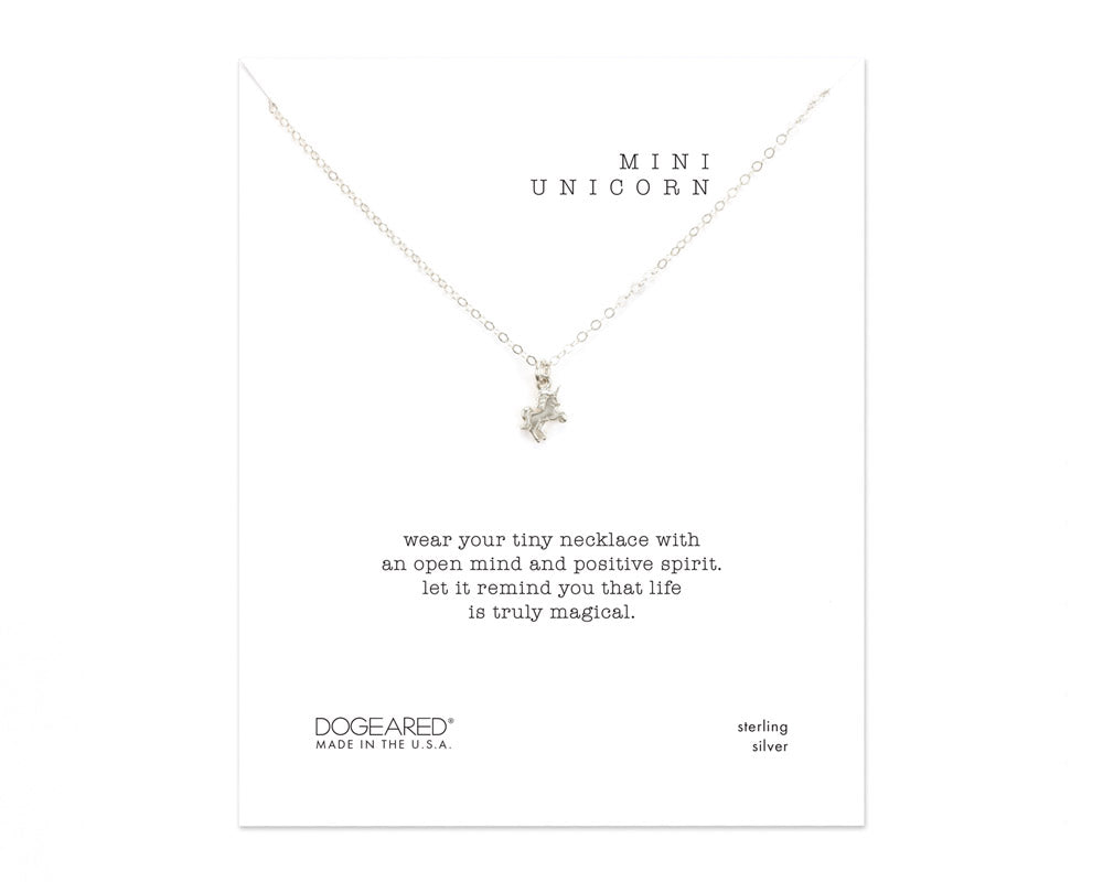 "Dogeared Jewelry | ""Life Is Magical"" Unicorn Necklace 