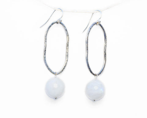 """Full Moon"" Statement Earrings 