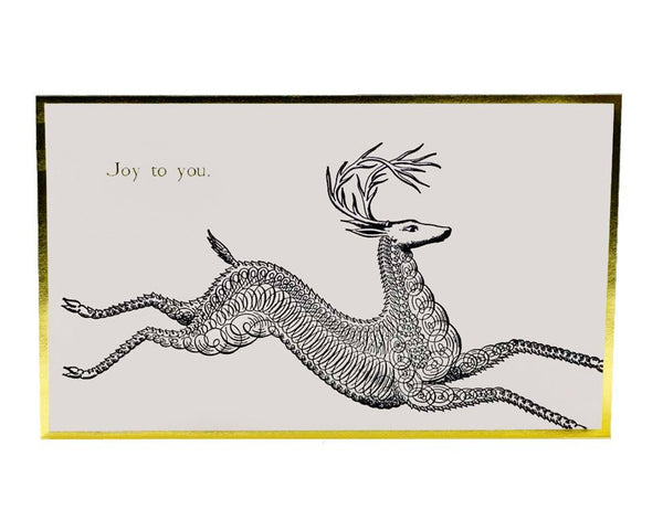 "Atelier Austin Press | ""Joy to You"" Letterpress Holiday Card Set 