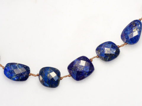 Lena Skadegard Jewels | Faceted Lapis Lazuli Tassel Necklace | Firecracker