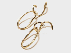 Odette New York | Ines Hoop Earrings | Firecracker